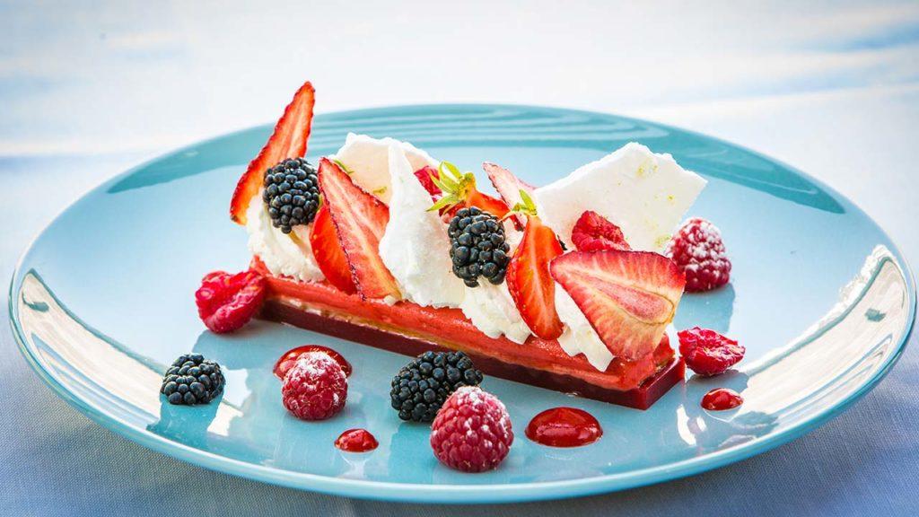 Restaurant Akashon Dessert Cuisine Fraise Framboise