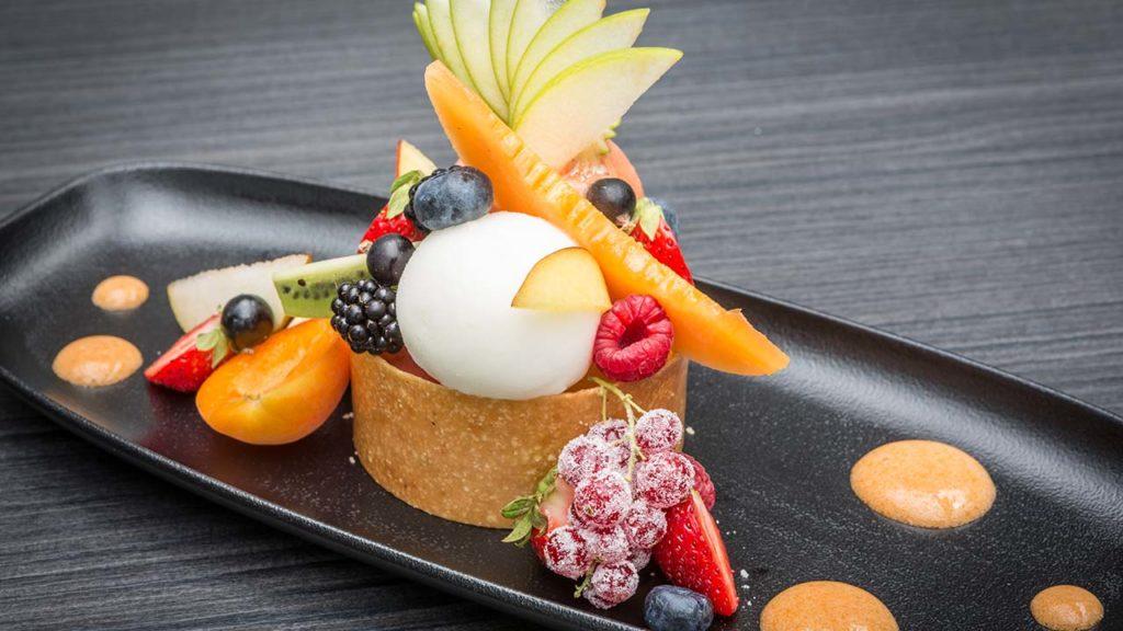 Restaurant Akashon Dessert Cuisine Fruit