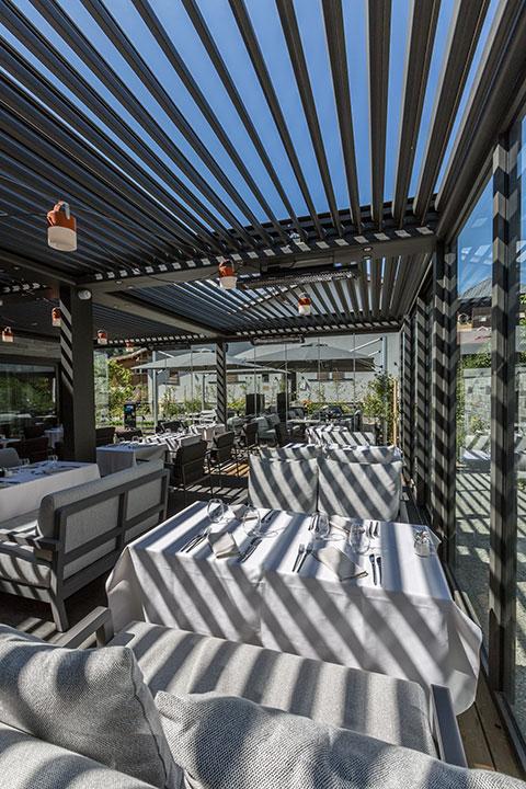 Restaurant Akashon Terrasse Couverte Ciel