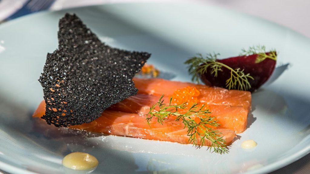 Restaurant Akashon Entree Cuisine Saumon