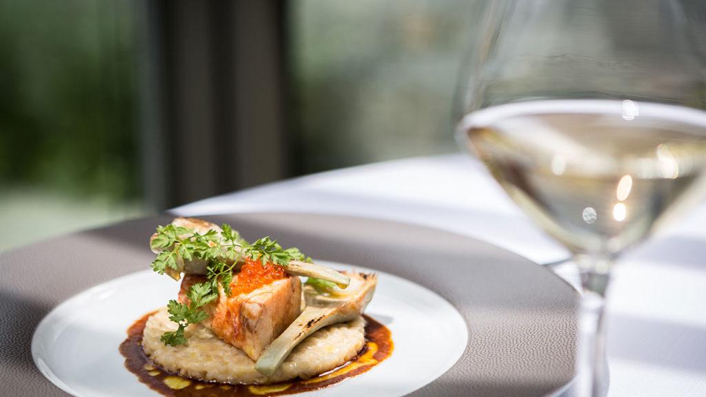 Restaurant Akashon Plat Cuisine Verre