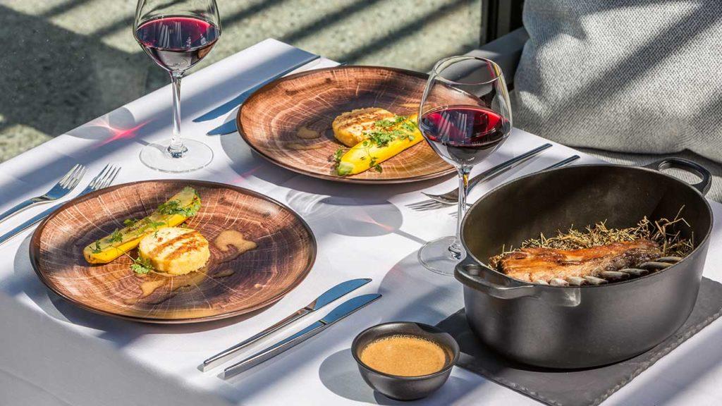 Restaurant Akashon Plat Cuisine Vin