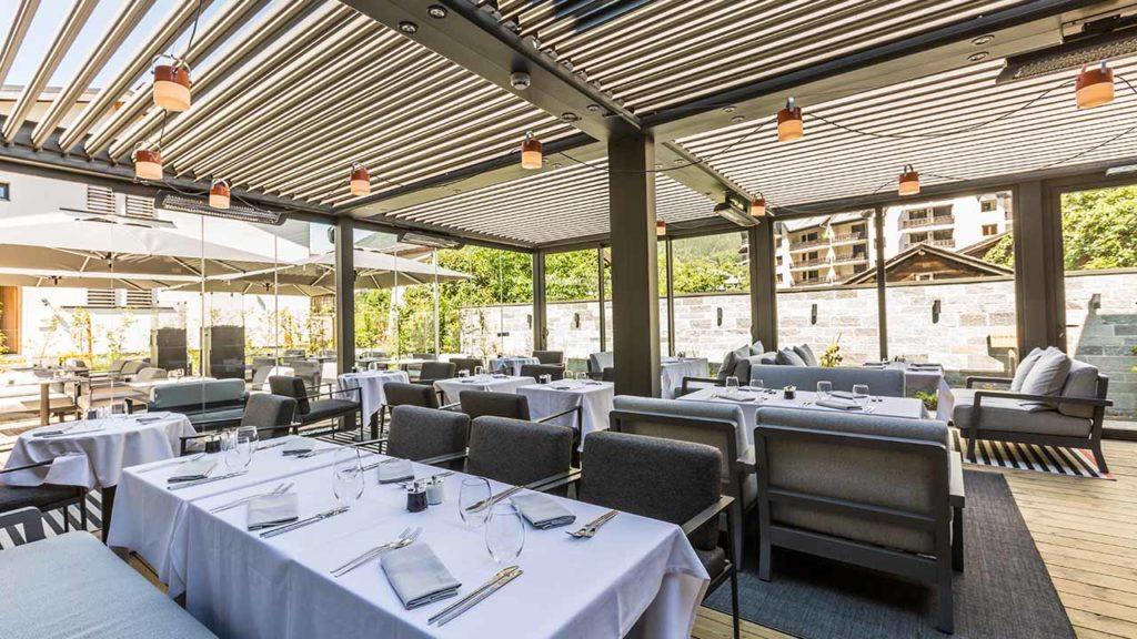Restaurant Akashon Terrasse Couverte